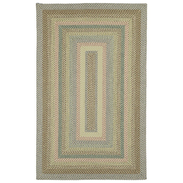 Malibu Indoor/ outdoor Woven Multi Rug - 5'x8'