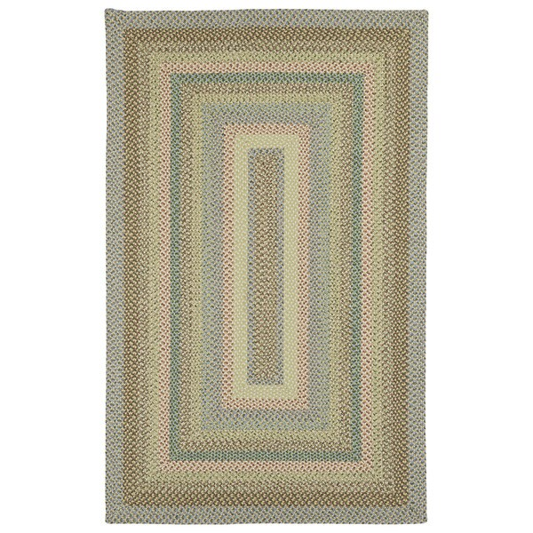 Malibu Indoor/ outdoor Woven Multi Rug - 8' x 11'