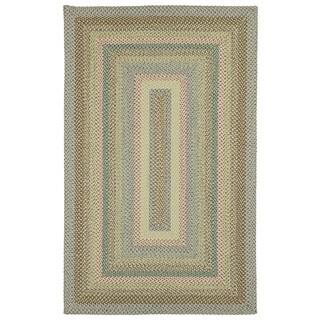 Malibu Multicolored Woven Indoor/ Outdoor Area Rug (9' x 12') - 9' x 12'