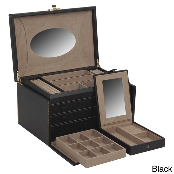 WOLF Abbot Large Jewelry Case