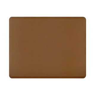 WellnessMats 60 x 48-inch Original Smooth Tan Anti-fatigue Floor Mat