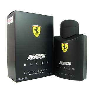 Ferrari Scuderia Black Men's 4.2-ounce Eau de Toilette Spray