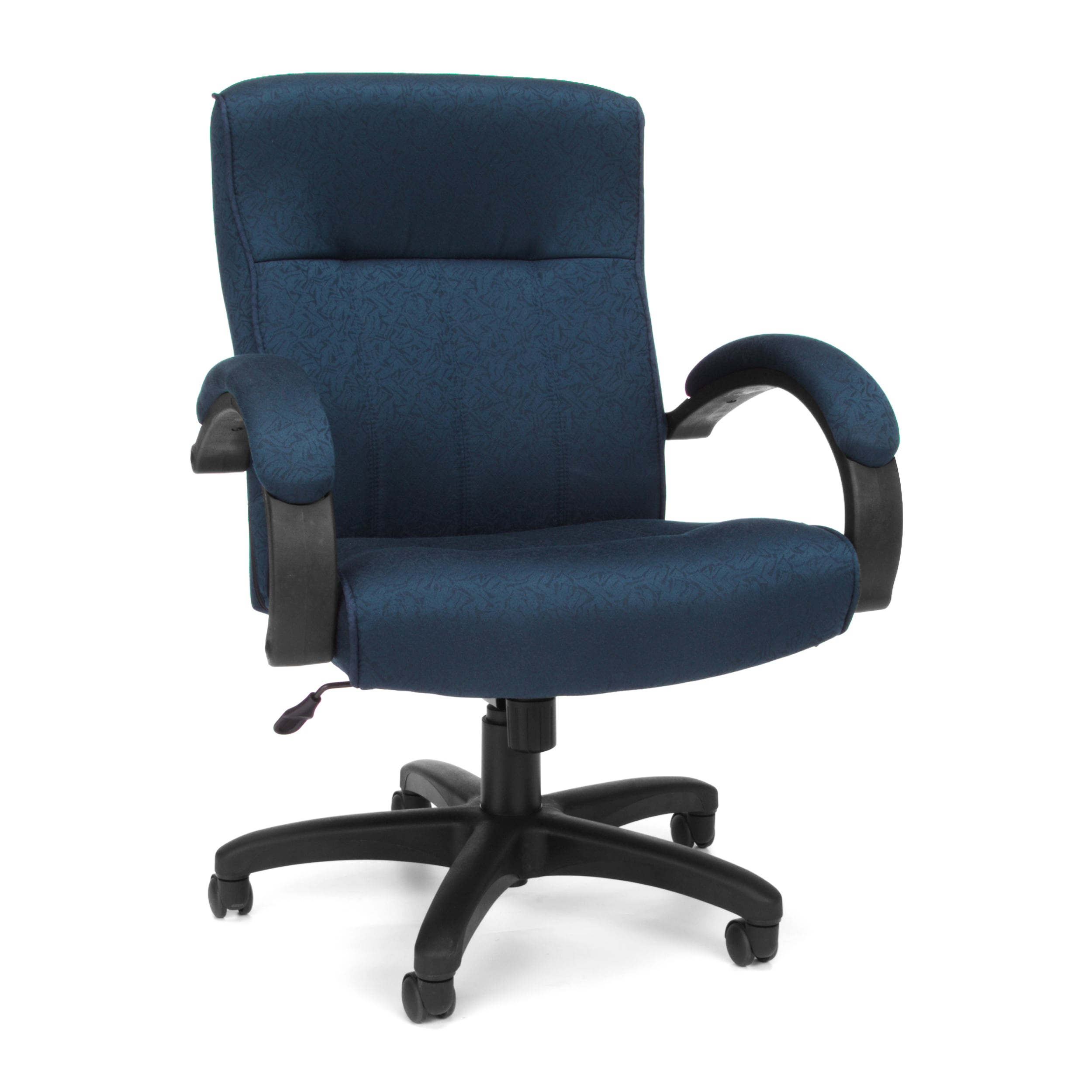 ofm blue black executive office chair ebay