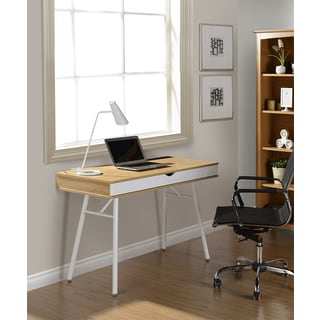 Modern Design Cord Management Workstation Desk Free Shipping Today 15610367