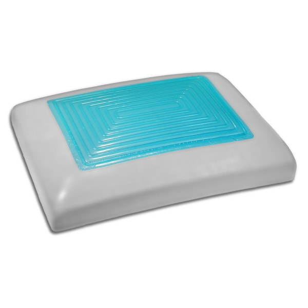Sharper Image Ultimate Gel Memory Foam Pillow - Free Shipping On Orders Over $45 - Overstock.com ...