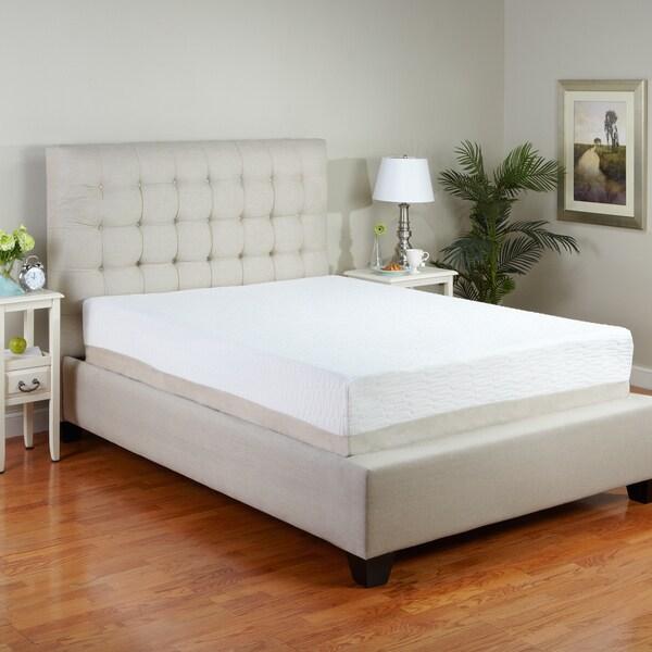 PostureLoft Sienna 11-inch King-size Latex Foam Mattress