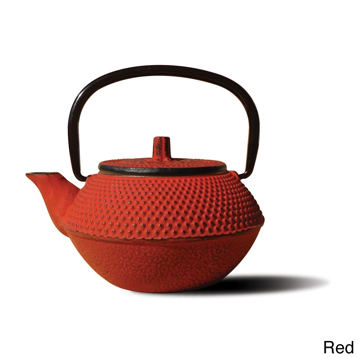 Old Dutch Tokyo' Cast Iron 11-ounce Teapot (Red)