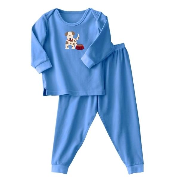 Halo Boy's 2-piece Flannel Sleepwear Set