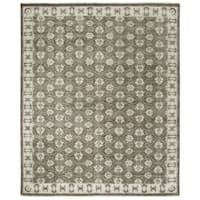 Safavieh Hand-knotted Oushak Grey Wool Rug - 8' x 10'