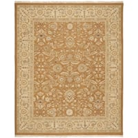 Safavieh Handwoven Sumak Copper/ Beige Wool Area Rug - 8' x 10'