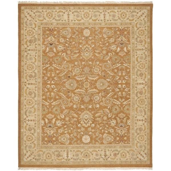 Safavieh Handwoven Sumak Copper/ Beige Wool Area Rug - 8' x 10'