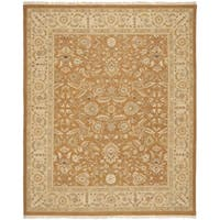 Safavieh Hand-Woven Sumak Copper/ Beige Classic Wool Rug - 9' x 12'