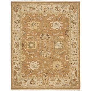 Safavieh Handwoven Sumak Copper/ Beige Wool Area Rug (6' x 9')