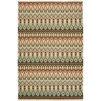 Safavieh Hand-woven Sumak Multi Wool Rug - 6' x 9'