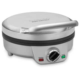 Cuisinart WAF-200 Brushed Stainless Belgian Waffle Maker https://ak1.ostkcdn.com/images/products/8291662/8291662/Cuisinart-WAF-200-Brushed-Stainless-Belgian-Waffle-Maker-P15610501.jpg?impolicy=medium