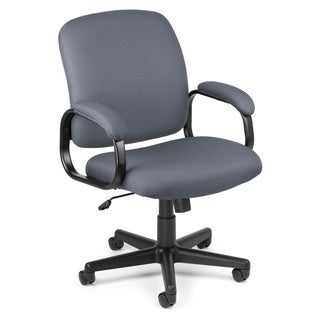 OFM Series 600 Grey Executive Conference Chair