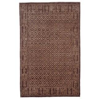 Safavieh Hand-knotted Tibetan Multicolored Wool/ Silk Rug (8' x 10')