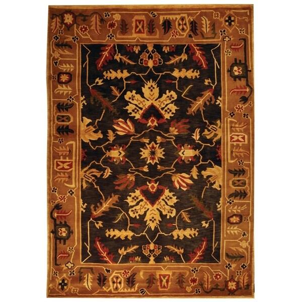 Safavieh Hand-knotted Tibetan Multicolored Wool Rug - 9' x 12'