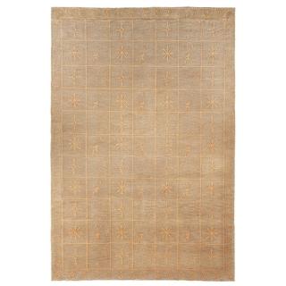 Safavieh Hand-knotted Tibetan Green Wool/ Silk Rug (9' x 12')