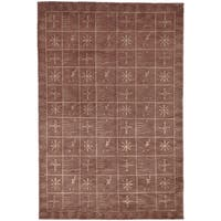 Safavieh Hand-knotted Tibetan Multicolored Wool/ Silk Rug - 8' x 10'