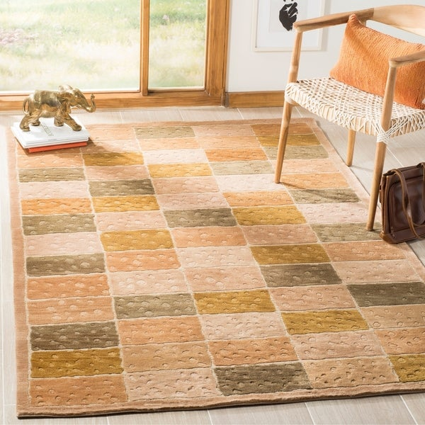 Safavieh Hand-knotted Tibetan Multicolored Wool Rug - 8' x 10'