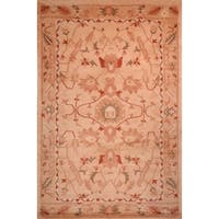 Safavieh Hand-knotted Tibetan Multicolored Wool Area Rug - Coral - 8' x 10'