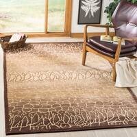 Safavieh Hand-knotted Tibetan Contemporary Beige Wool Rug - 5' x 7'6""