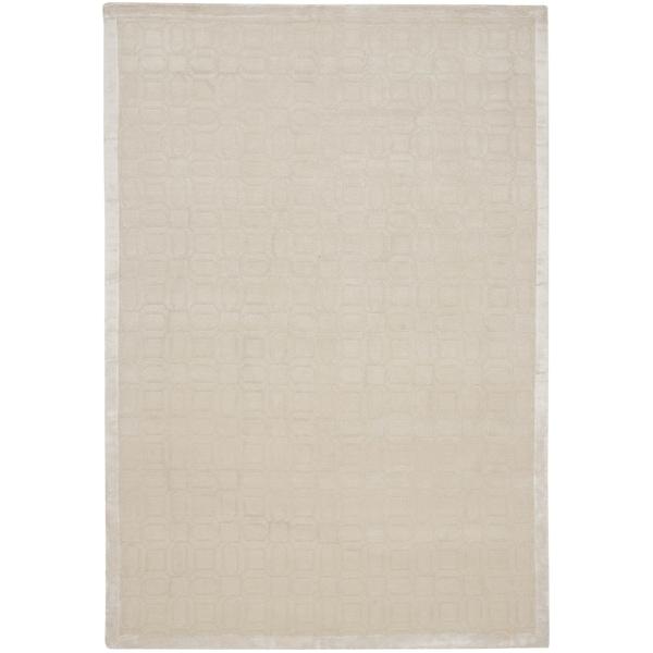 Safavieh Hand-knotted Tibetan Modern White Wool/ Viscose Rug - 8' x 10'