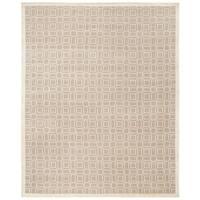 Safavieh Hand-knotted Tibetan Modern White Wool/ Viscose Rug - 9' x 12'
