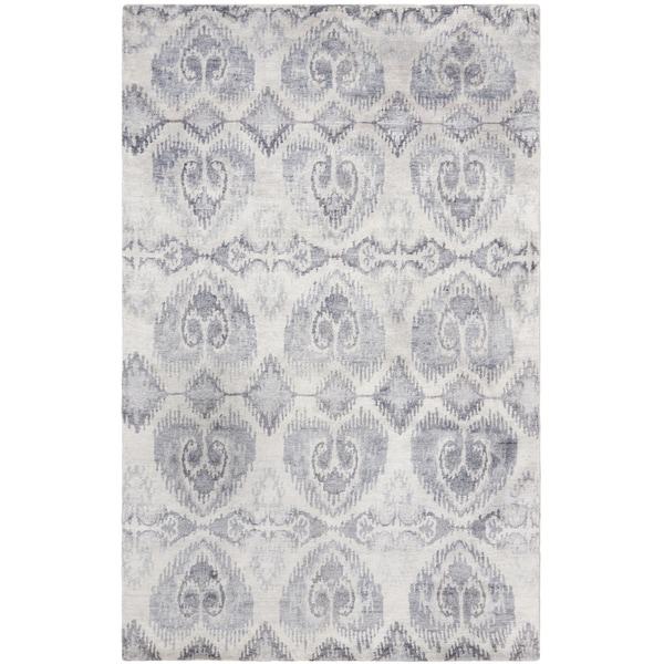 Safavieh Hand-knotted Tibetan Lavender Wool/ Viscose Rug - 9' x 12'