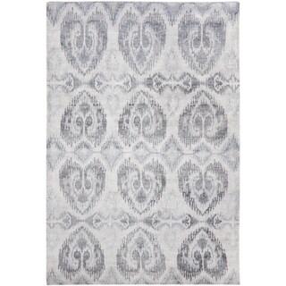 Safavieh Hand-knotted Tibetan Sterling Wool/ Viscose Rug (6' x 9')