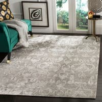 Safavieh Couture Handmade Tibetan Modern & Contemporary Grey Wool Rug - 8' x 10'