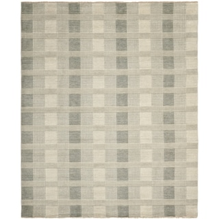 Safavieh Hand-knotted Tibetan Grey Wool Rug (8' x 10')