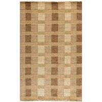 Safavieh Hand-knotted Tibetan Brown Wool Rug - 5' x 8'