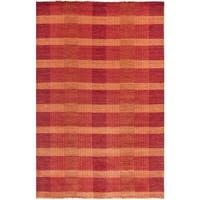 Safavieh Hand-knotted Tibetan Red Wool Rug - 5' X 8'