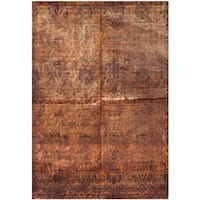 Safavieh Hand-knotted Tibetan Rust Wool Rug - 9' x 12'