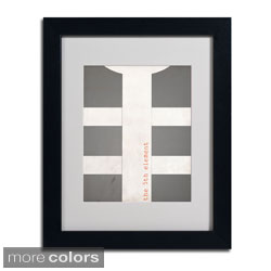 Megan Romo 'Fifth Element' Framed Matted Art (4 options available)