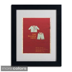 Megan Romo 'The Pajama Game' Framed Matted Art (4 options available)