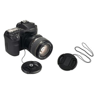 INSTEN Lens Cap/ Lens Cap Holder for Fuji S1000FD S1000 FinePix Camera