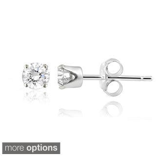14k Gold 1/4ct TDW White Diamond Stud Earrings (G-H, I2-I3)