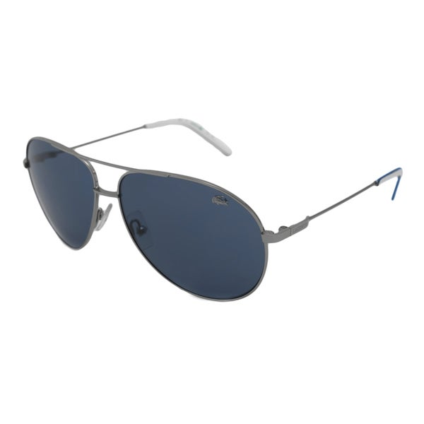 b204b86aac0 Shop Lacoste Men s L122S Aviator Sunglasses - Free Shipping Today ...