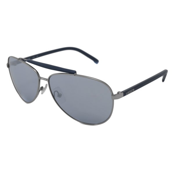 72755eae4d1 Shop Lacoste Men s L123S Aviator Sunglasses - Free Shipping Today -  Overstock.com - 8292790