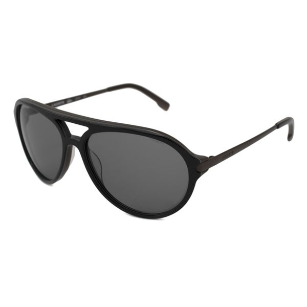 8c4220697b Shop Lacoste Men s  Unisex L651S Aviator Sunglasses - Free Shipping ...