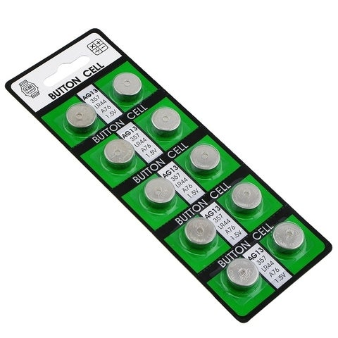 INSTEN AAG13 Alkaline Coin Cell Button Battery (Pack of 30)