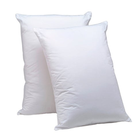 AllerEase Hot Water Washable Pillow, 2 Pack - White