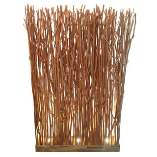 Forest Brush Screen Lamp