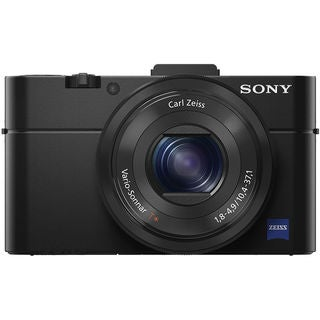 Sony Cyber Shot DSC-RX100 II WiFi 20.2MP Black Digital Camera