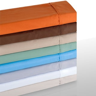 Windsor Microfiber Solid Color 4-piece Sheet Set (More options available)