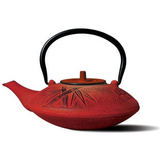 cast iron 37ounce teapot