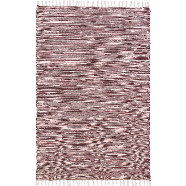 Flat Weave Reversible Brown Chenille Rug (4' x 6')